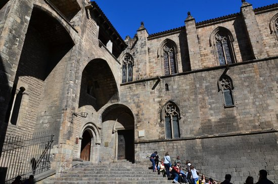 St Agatas Chapel - Picture of Museu dHistoria de Barcelona - MUHBA,...