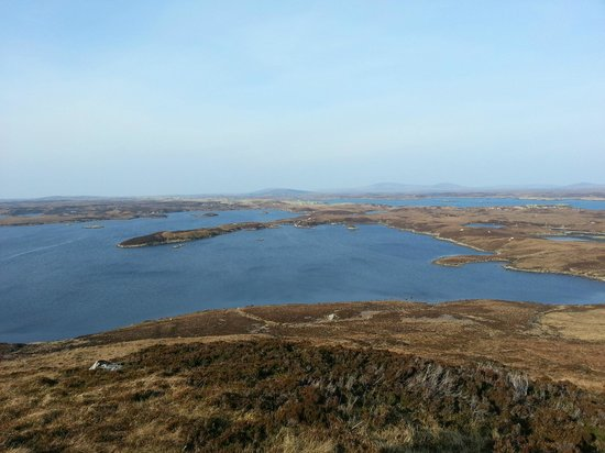 North Uist, UK: Views from Burrival