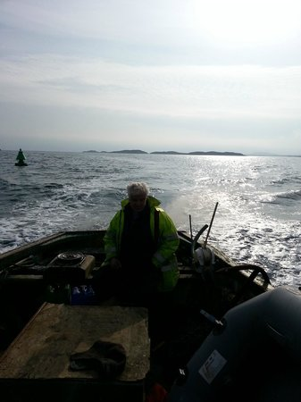 North Uist, UK: Boat trip