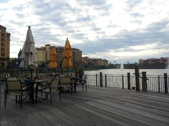 Wyndham Grand Orlando Resort Bonnet Creek: View from the Back Bay Bar (1 of 2)