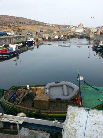 North Uist, UK: Calm sea