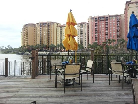 Wyndham Grand Orlando Resort Bonnet Creek: View from the Back Bay Bar (2 of 2)