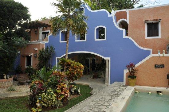 Hotel Casa de las Flores Playa del Carmen: ingresso