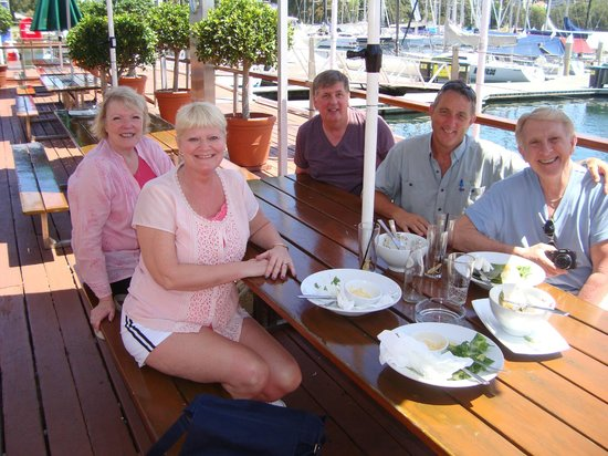 Australian Luxury Escapes: Lunch at Yacht Club