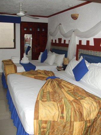 Hotel Las Golondrinas: la nostra stanza vista dall'ingresso