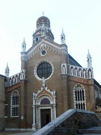 Chiesa della Madonna dell'Orto: Santa Maria dell'Orto - Facciata