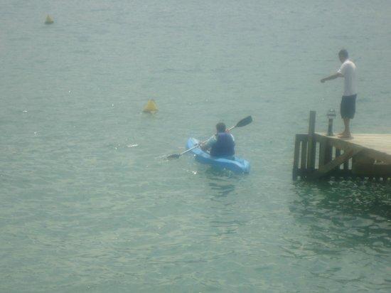 Barra do Piuva Porto Hotel: Practicando Kayak