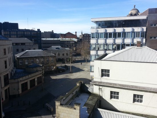 Premier Inn Newcastle City Centre (New Bridge Street) Hotel: view from our room