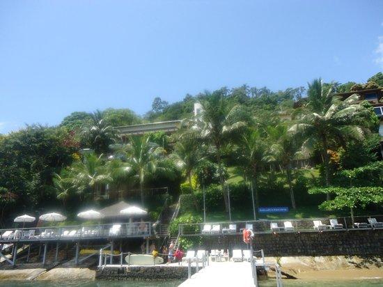 Barra do Piuva Porto Hotel: Vsita desde el muelle