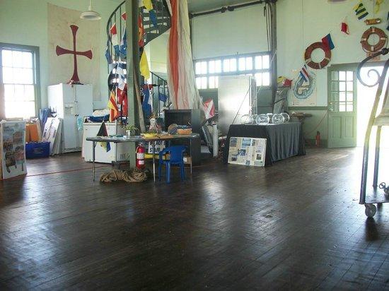 Palm Beach Maritime Museum:                                     Inside Boathouse