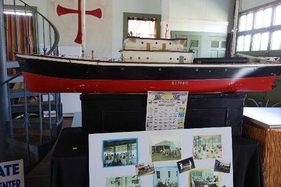 Palm Beach Maritime Museum:                                     Inside Ready Boathouse
