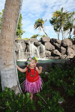 Kings' Land by Hilton Grand Vacations: Abby at the serenity pool