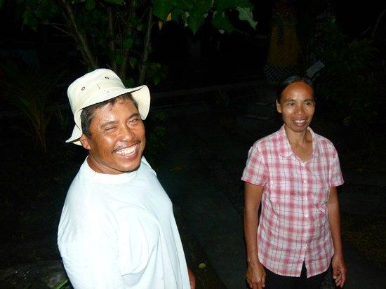Bubu Racok Homestay: Wayan en Ketut