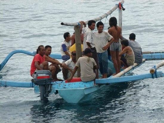 Bubu Racok Homestay: De vissers van de coöperatie varen uit