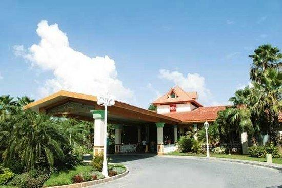 Hotel Riu Playacar: zona da entrada/recepção