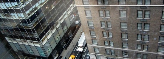 Hotel 48LEX New York: View from room 1606