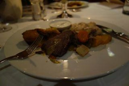 Auenhof Hotel: Main Course