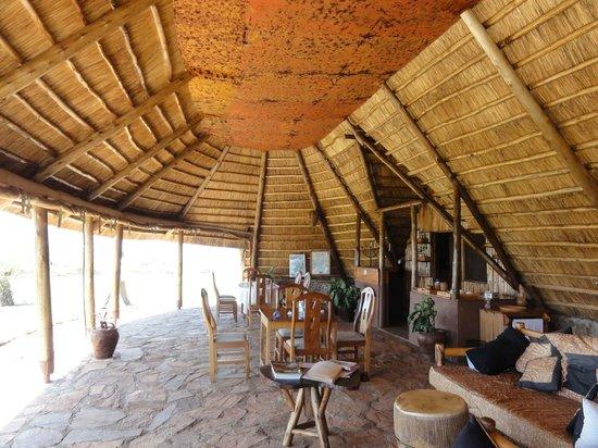 Ngamba Island Tented Camp : main area