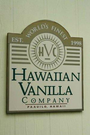 Hawaiian Vanilla Company: here's your sign....