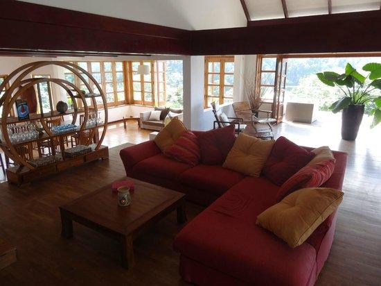 Copolia Lodge: Salle commune