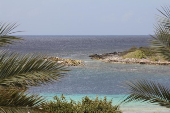 Santa Barbara Beach & Golf Resort, Curacao: inlet to ocean