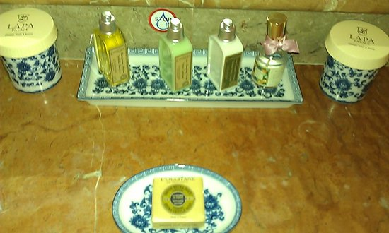 Olissippo Lapa Palace: L'occitane products