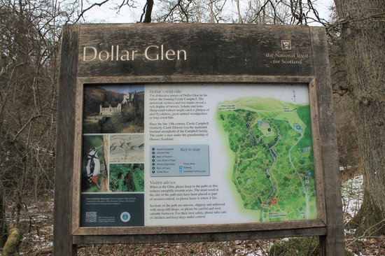 Castle Campbell: Dollar Glen