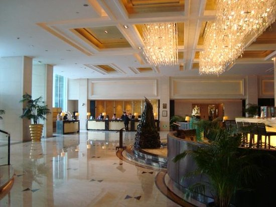 Radisson Blu Hotel Shanghai Hong Quan: Radisson Blu Hong Quan entrance hall