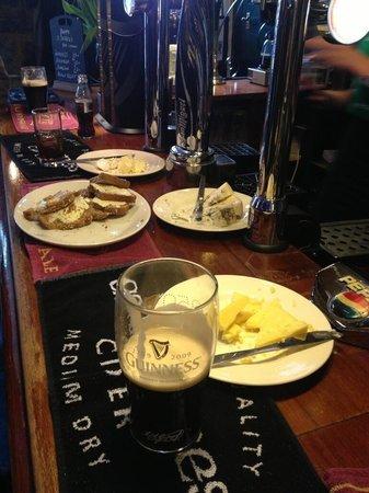 The Volunteer Inn: Saint Patrick's Day nibbles.