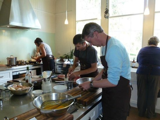 The Agrarian Kitchen:                   Busy cooking