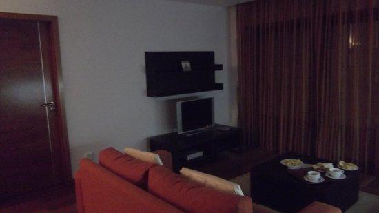 Hotel Baia da Luz: The living area