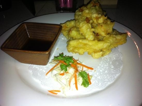 Blu Sushi: shrimp tempura