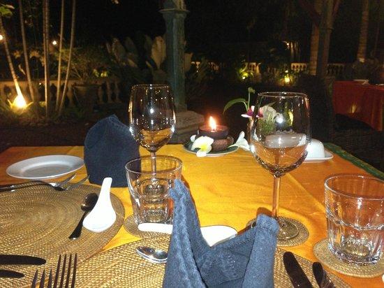 La Maison Nil Manel: ambiance du soir