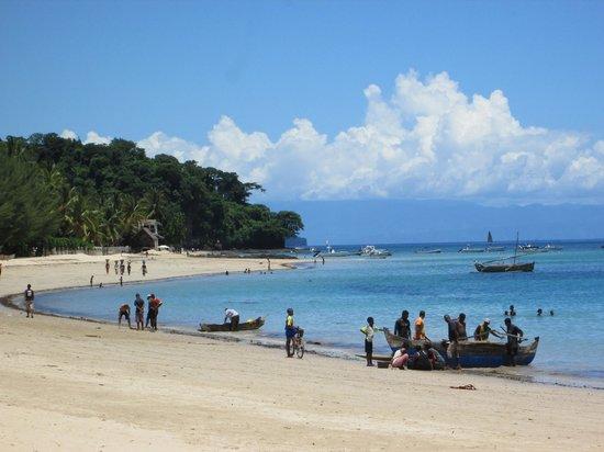 Royal Beach Hotel: retour des pêcheurs