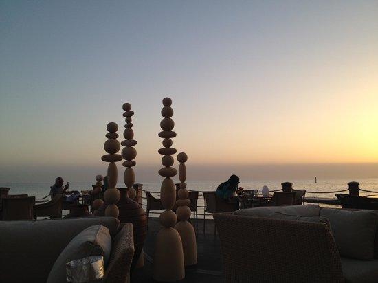 Sofitel Bahrain Zallaq Thalassa Sea & Spa: view from Tapas bar