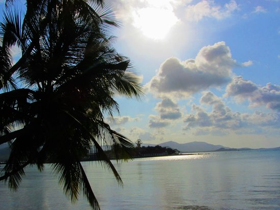 Tango Luxe Beach Villa: Вид с основной террасы