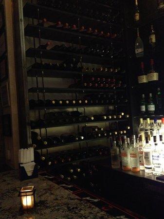 Bottega Restaurant: huge array of wines