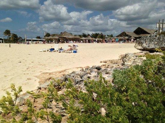 Cozumel Bar Hop: Punta Morena on the beach