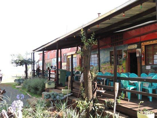 Malealea Lodge: Huvudbyggnad