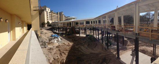 Omni Amelia Island Plantation Resort: Tons of construction going on!!!