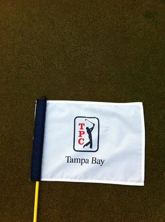 TPC Tampa Bay: aiming at the flag!