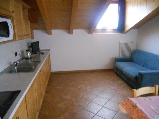 cucina-salotto - Bild von Gaia Wellness Residence Hotel ...