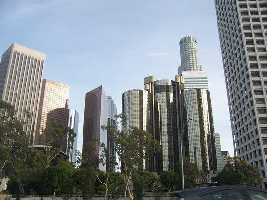 Los Angeles County Museum of Art: Centro de los angeles, sector financiero