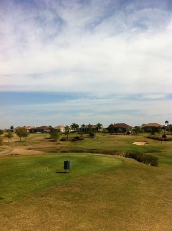 Lake Jovita Golf and Country Club: overlooking one of the beautiful par threes