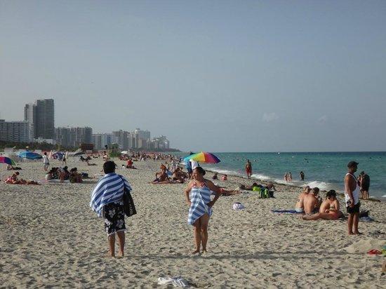 ماجيستيك ساوث بيتش هوتل: Die Beach beim Ocean Drive
