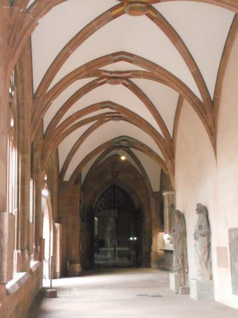 Mainz Cathedral (Dom): Perimeter of the cloister