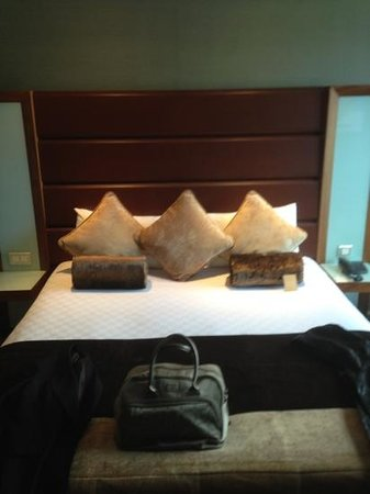 Radisson Blu Edwardian Manchester: Lovely comfortable bed