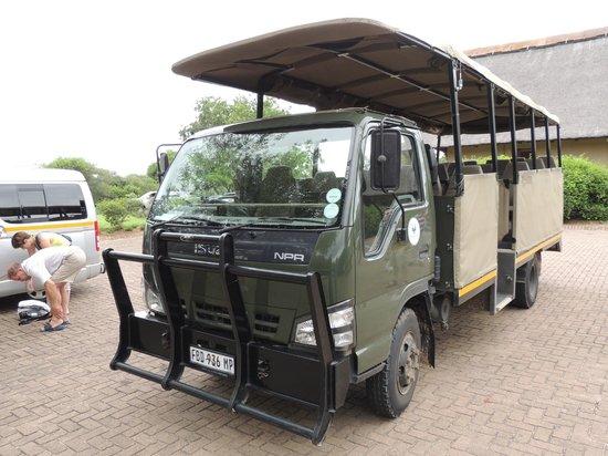 Safari's Direct Day Safaris: Lastbil