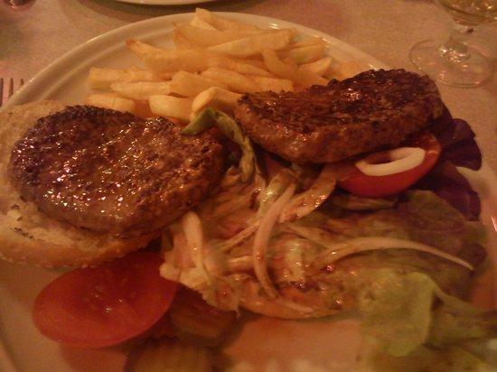 Cafe du Commerce :                                     burger