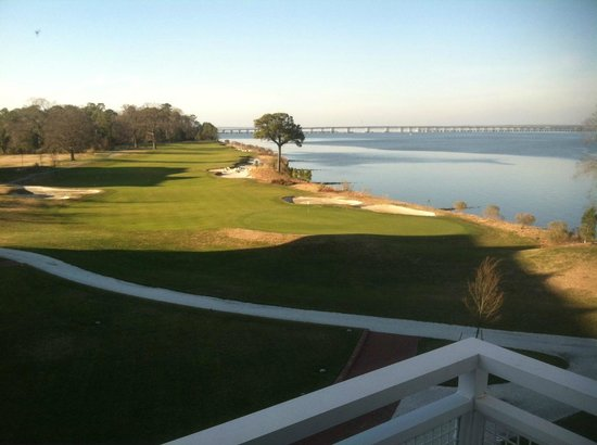Hyatt Regency Chesapeake Bay Golf Resort, Spa & Marina: View from room facing river